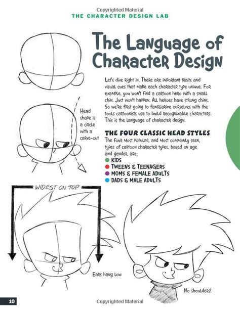 cartooning the ultimate character design book 247 best christopher hart images on school
