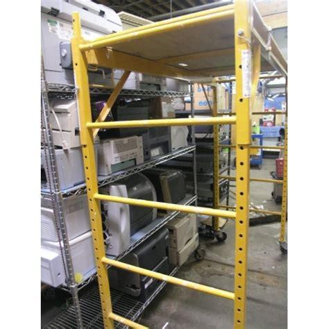 Scaffold Rack by Baker Rack Rolling Scaffolding Allsold Ca Buy Sell