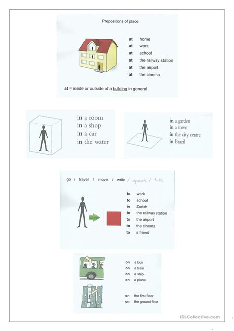 esl printable worksheets prepositions of place preposition of place worksheet free esl printable