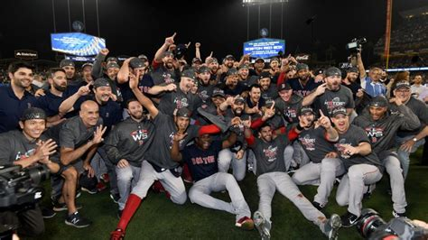 boston red sox seal world series    triumph  la dodgers baseball news sky sports