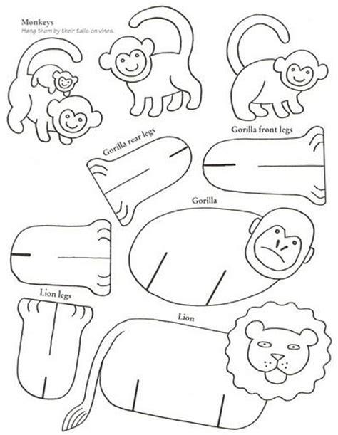 3d cardboard animals template sin t tulo 151 2 jpg animal aap en animal cut