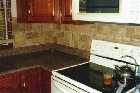 Ceramic Kitchen Backsplash B And K Home Recycling Services Painting Interiors