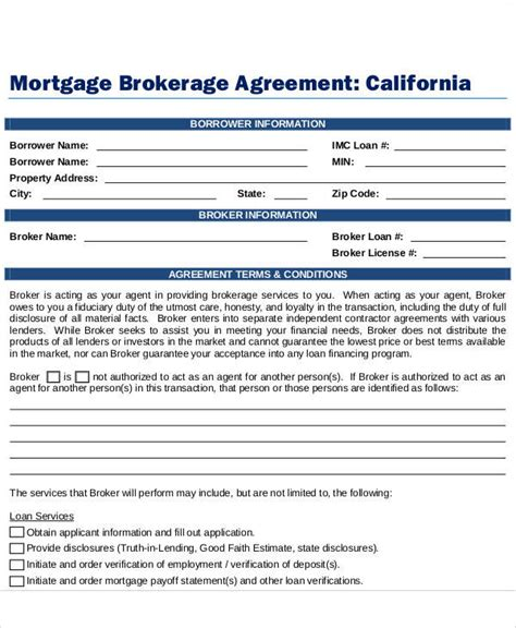 business broker agreement template 28 images sle