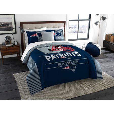 patriots comforter queen nfl new patriots quot draft quot bedding comforter set walmart