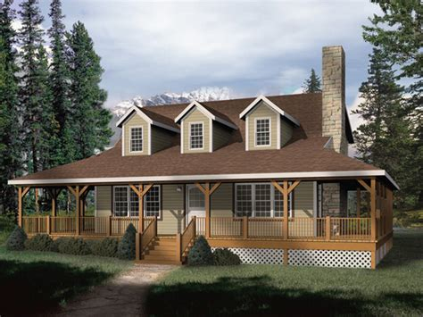 house plans wrap around porch park rustic home plan 058d 0032 house plans and more