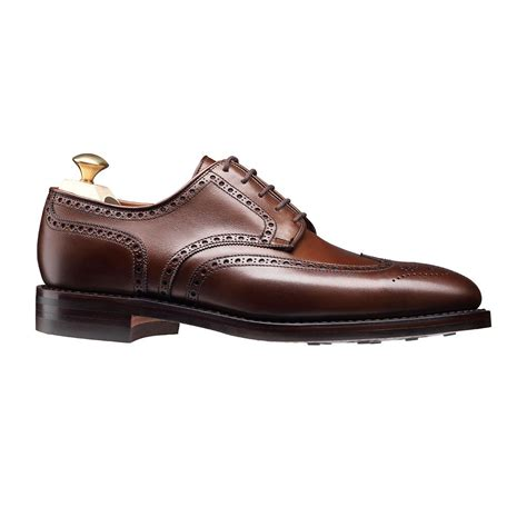 Handmade Mens Brogues - handmade wingtip brogue formal leather shoes