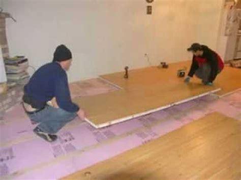 Insulating Concrete floors