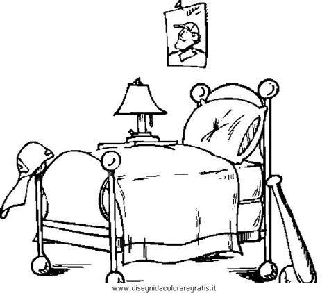 colorare la da letto disegno letto 0 da colorare