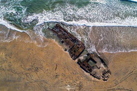 shipwreck location the amazing shipwreck at coronado is exposed for a