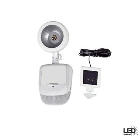 defiant 180 motion security light defiant 180 degree outdoor solar white led motion security