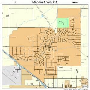 map of madera california madera acres california map 0645050
