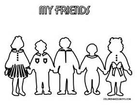 friendship color jolly coloring pages day free