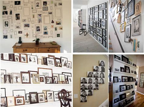 60 brillantes ideas para decorar con fotos familiares - Como Decorar Con Fotos Familiares