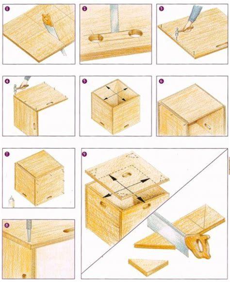 como hacer una caja  juguetes cosas en  como hacer una caja hacer cajones de madera