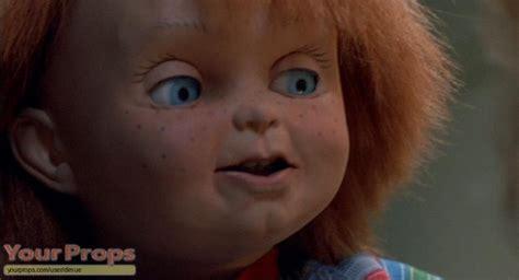 film chucky 3 child s play chucky facial appliances original movie prop