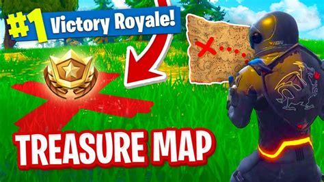 fortnite treasure map secret treasure map in fortnite