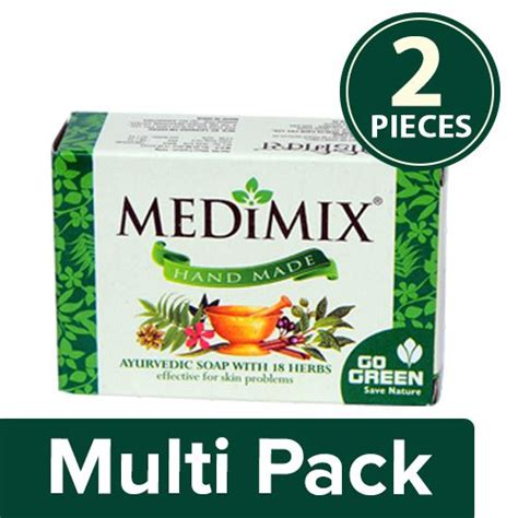 Sabun Medimix Ayurvedic Bath Soap 18 Herbs medimix bathing soap ayurvedic soap with 18 herbs 75 gm buy at best price