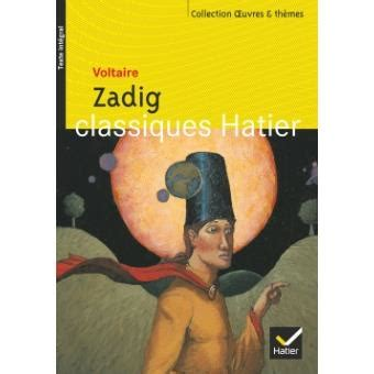 Resume Zadig by Zadig Le Th 232 Me Du Conte Philosophique Poche Voltaire