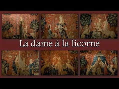 La Dame à La Licorne 6 Tapisseries by La Dame 224 La Licorne