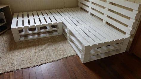 corner sofa made from pallets diy pallet corner sofa frame 101 pallets