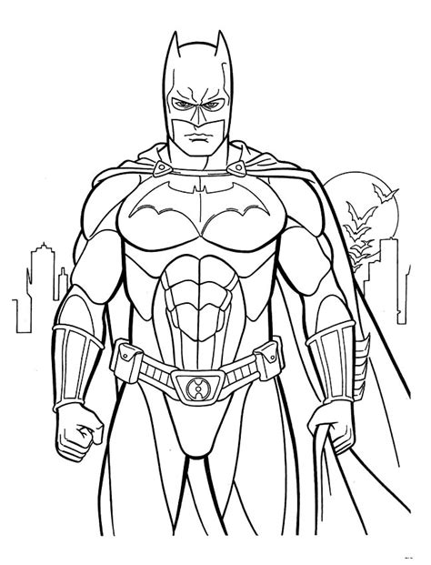 printable coloring pages batman evil fighter batman coloring pages 34 pictures crafts and