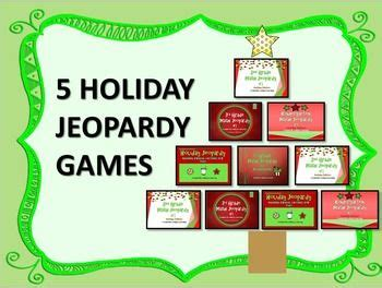 printable christmas jeopardy game jeopardy games k 3 holiday editions
