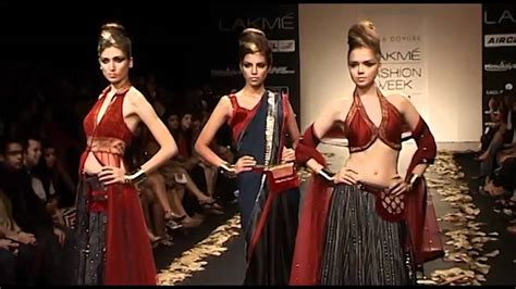 India Bans Fashion Tv Again by Lakme Fashion Week Indian Traditional Wear