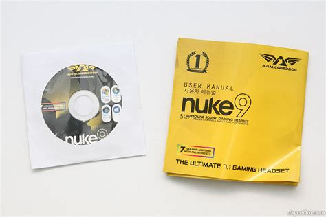 Armaggeddon Gaming Headset Nuke 9 armaggeddon nuke 9 review jayceooi