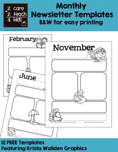 basic newsletter template basic newsletters free printable templates