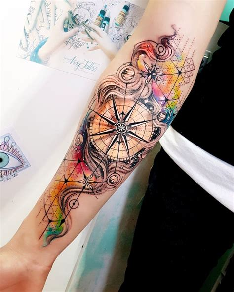 tattoo background color 25 best compass tattoo ideas on pinterest compass
