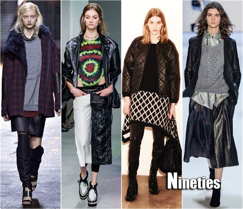 Fashion Week Trends 3 by Fall 2013 Fashion Week Trends Nineties Grunge Sydne Style
