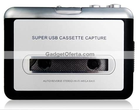 cassetta usb cassette usb capture gadgetoferta
