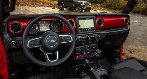 Jeep Wrangler Interior by 2018 Jeep Wrangler Interior Revealed Ahead Of La Debut W