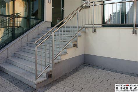 treppengelã nder shop schlosserei metallbau fritz edelstahl treppengel 228 nder