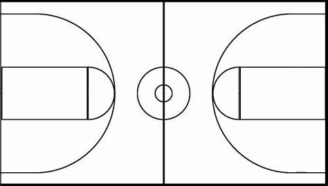 Pygraphics Inc Basketball Lines Template