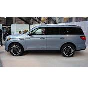 2018 Lincoln Navigator Black Label At New York Auto Show Photo