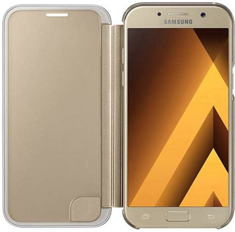 Clear View Flip Cover Samsung A5 samsung clear view cover ef za520 flip cover passend f 252 r