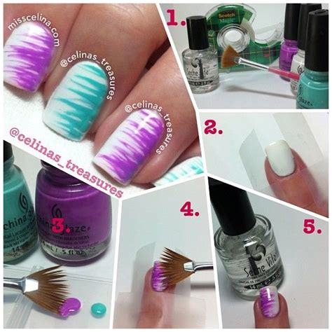 easy nail art with fan brush 25 best ideas about fan brush on pinterest weird