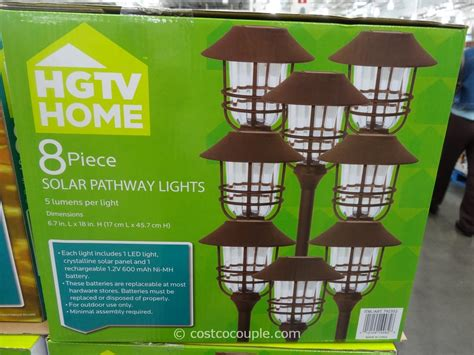 Solar Pathway Lights Costco 24 innovative solar patio lights costco pixelmari