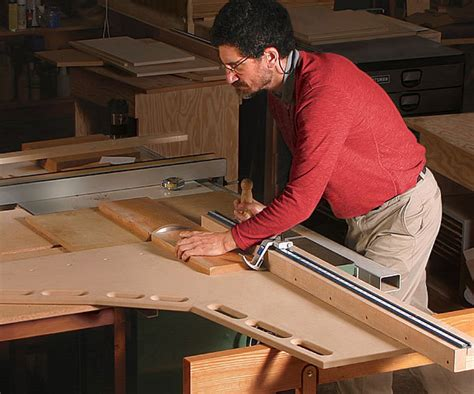 ultimate crosscut sled finewoodworking