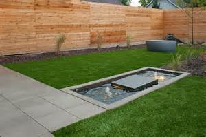 Front Yard Fountains Horizontal Cedar Fence Landscape Contemporary With Fence