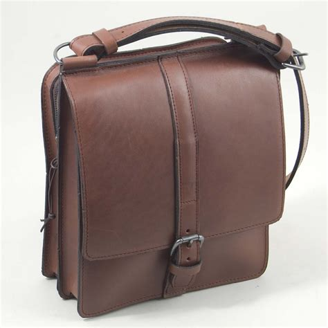 The Bag the reporter bag handmade leather henry tomkins