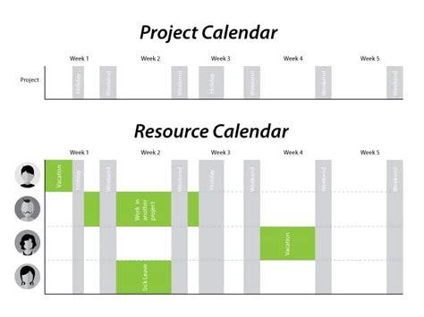 Project Team Vacation Calendar Template