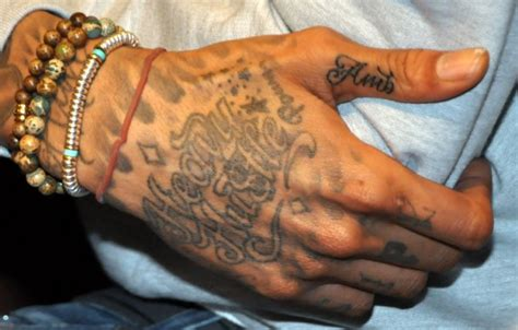 wiz amber rose tattoo all wiz khalifa tattoos meanings etc
