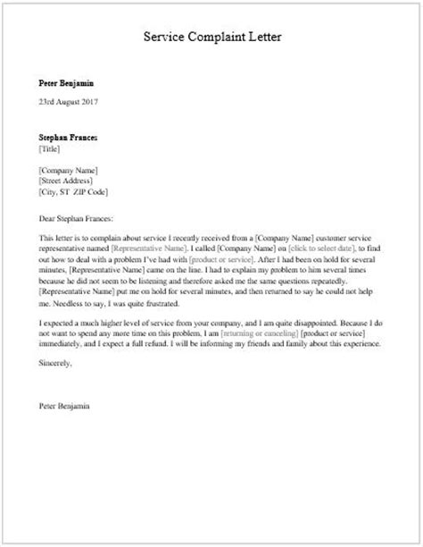 Complaint Letter Template Microsoft Word employee complaint forms for ms word word excel templates
