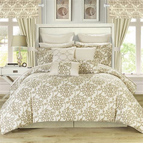 chic home hailee 24 piece comforter set reviews wayfair