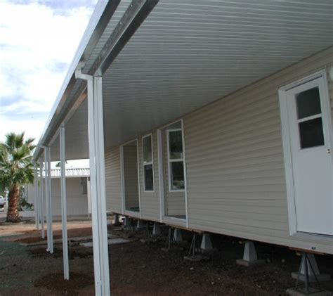 mobile home metal awnings aluminum awnings for mobile homes schwep