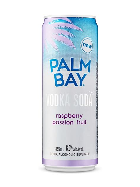 vodka soda palm bay raspberry passionfruit vodka soda lcbo