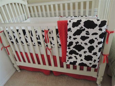 The Cowhide Baby Bedding Set Babylovin Cowhide Bedding Sets
