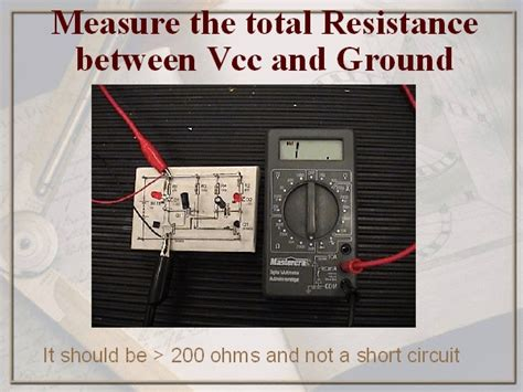capacitor between reset and ground capacitor between ground and vcc 28 images testing the flasher layout how to connect